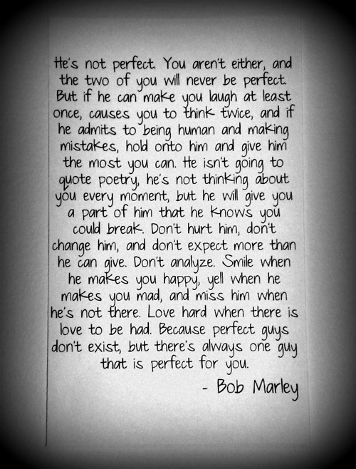 Aside from his music, just another reason why Bob Marley rules. xo alexthreetimes:  Truth.