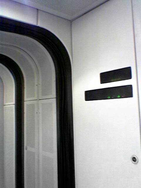 The interior of a Spanish train resembles the Tantive IV, doesn't it? ^^