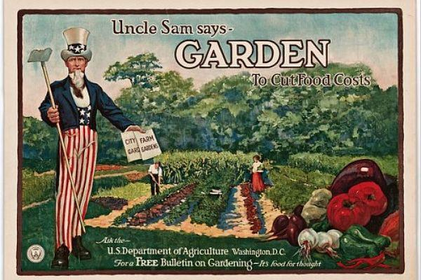 "New exhibition at the National Archives looks at the history of gardening and cooking in America as the country moved from rural and agricultural to urban and consumer. ""What's Cooking, Uncle Sam?"" is on view in Washington, D.C. through January 3, 2012."