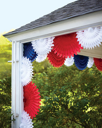 Tissue Paper Fans Decorations