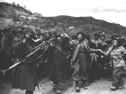 psykorgasm:  greek insurgents 1948