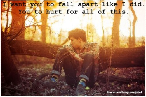 ifimromeothenyourejuliet:  Fall Apart - Every Avenue
