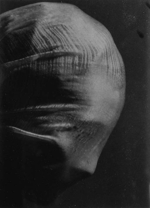Profile of a veiled head, 1942 by Josef Sudek [also] from Christie's