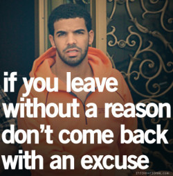 If you leave…