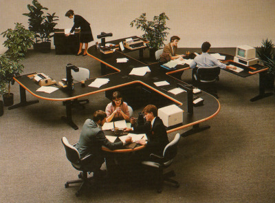 from the Facts on File book Office Furniture, 1984. truly next level.