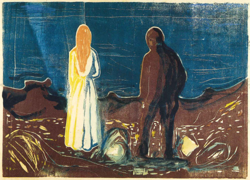 Edvard Munch woodcut