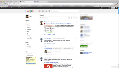 Google Plus G+ Social Networking - Public Preview