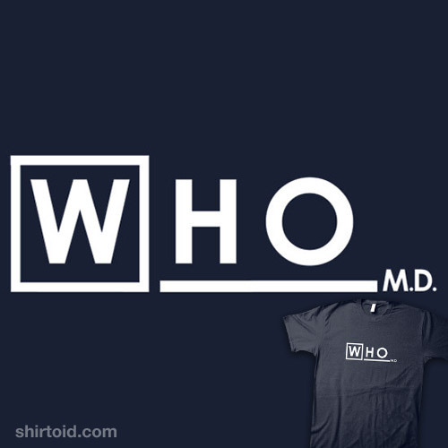 shirtoid:  Doctor Who available at RedBubble