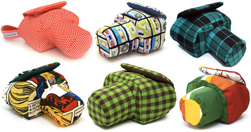 Stylish Pixbag SLR Camera Wraps by Chocmuf