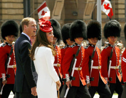 Spent Canada Day watching Will and Kate at the festivities in Ottawa. Oh Canada, you don't look a day over 140!