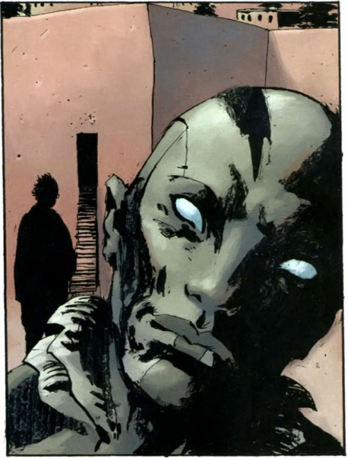 bathearst:  *o* (abe sapien: the drowning #5)  Umf!