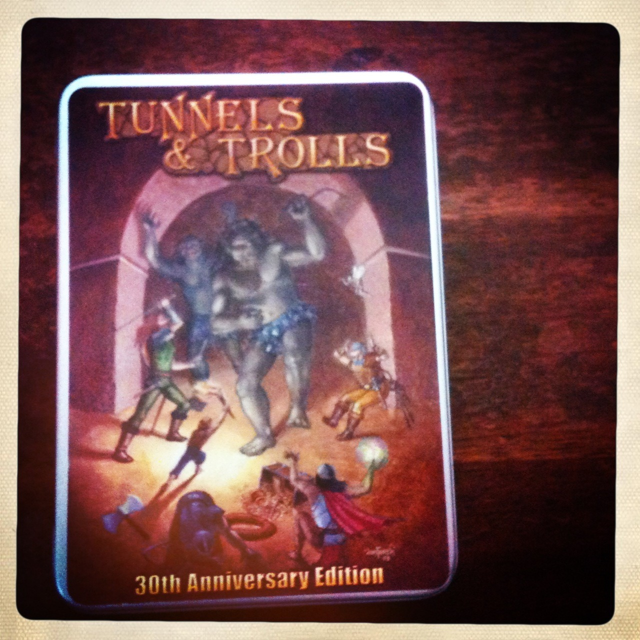 T&T 30th Anniversary Tin
