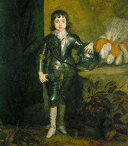 "thevictorianlady:  Charles ll when Prince of Wales (1637) Studio of Sir Anthony Van Dyck ""Obviously, I'm pretty badass"" little Charles thinks in his pint sized suit of armor. Well, you won't be for long when that damned Cromwell comes around. Yeah, exile's a bitch.  Reblogging for commentary."