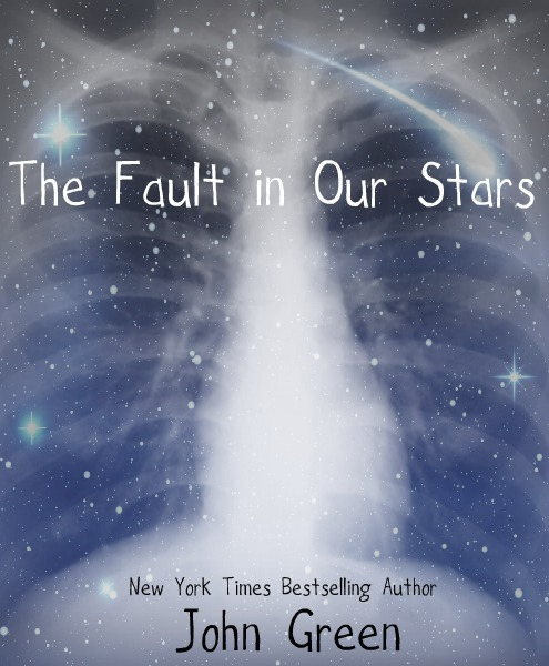 I made several covers for John Green's The Fault in Our Stars, but this is the only one that I thought was any good. I'm so excited for this book to come out. Looking for Alaska changed my life - actually, scratch that, it SAVED my life - and ever since, I've been a huge fan of all of John Green's books. I watched the live show, and the excerpt that he read was like words coming down from the heavens in a shower of gold. Have you pre-ordered your signed copy yet??