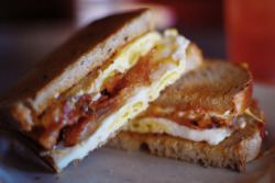 sandwichgalore:  Breakfast sandwich!