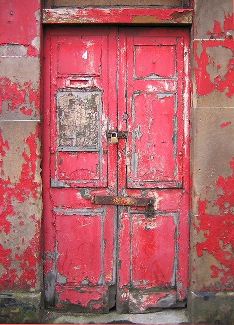 old door in Scotland