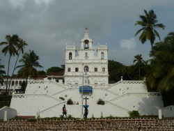 Church of Immaculate Conception, Goa, India.
