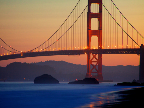 The Golden Gate by Chris Saulit on Flickr.
