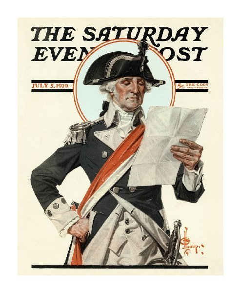 erikjohnsonillustrator:  JC Leyendecker - George Washington