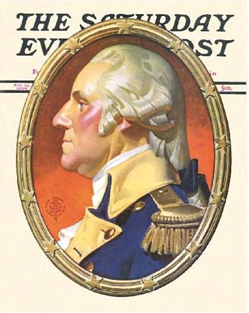 erikjohnsonillustrator:  JC Leyendecker - George Washington in Profile
