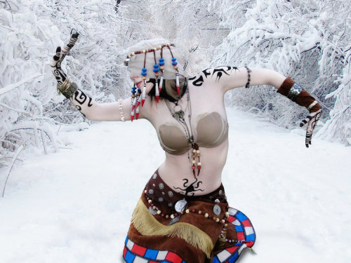 Ritualist from Guild Wars cosplayed by ~LiviaZita