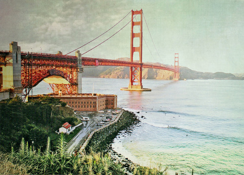 walkinginmybrogues:  Golden Gate Bridge by Katrine~ on Flickr.