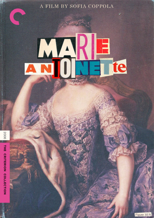 "Criterion Cover for Sofia Coppolla's ""Marie Antoinette"""