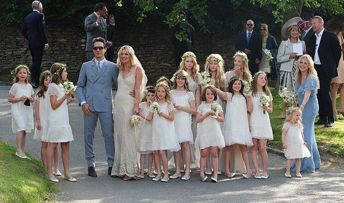 Kate #Moss #Married - Congrats !!!