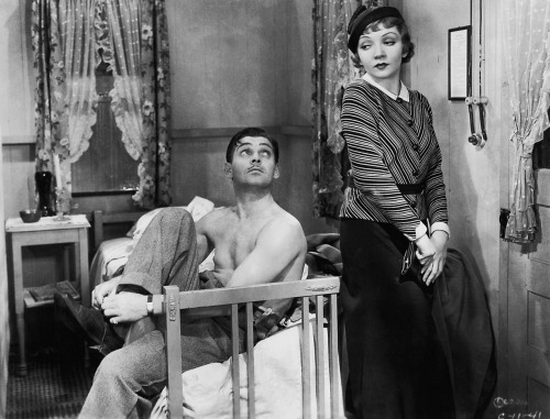 "Peter Warne & Ellie Andrews - Clark Gable & Claudette Colbert in the movie ""It Happened One Night"" - 1934"