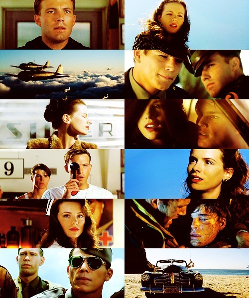 300 FAVORITE MOVIES (in no particular order)  25. Pearl Harbor (2001) Rafe: You are so beautiful it hurts.Evelyn: It's your nose that hurts.Rafe: I think it's my heart.