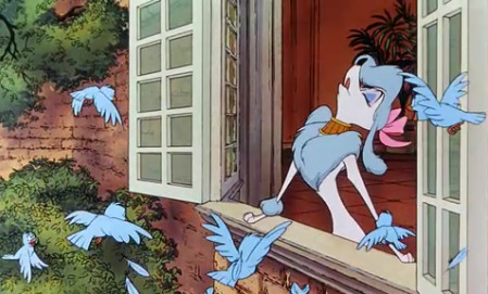 Georgette from Disney's Oliver & Company