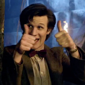 30 days of NuWho: Day# 29 Your favourite catch phrase: bowties are cool I think 11's 'official' catch phrase is supposed to be geranimo but that always sounded kind of lame to me especially since 10's allons-y was so much better by comparison. Haha but this one always makes me laugh. For full challenge list: http://tinyurl.com/3tvpf9u
