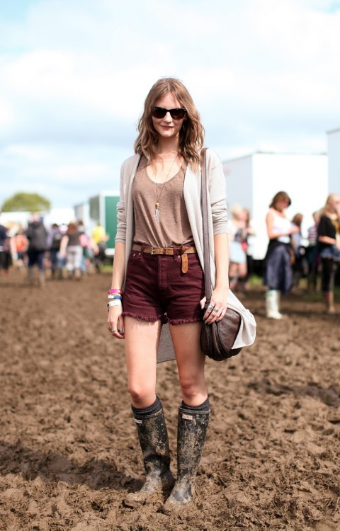 festival style at glastonbury by mr. newton.