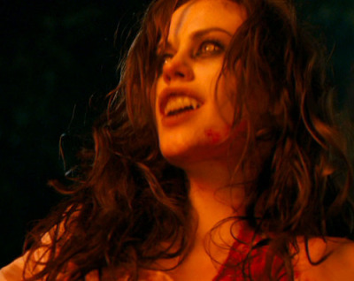 Anna Paquin in Trick'r Treat, one of my favorite takes on the red riding hood story!