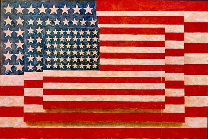 Jasper Johns  Happy 4th of July!