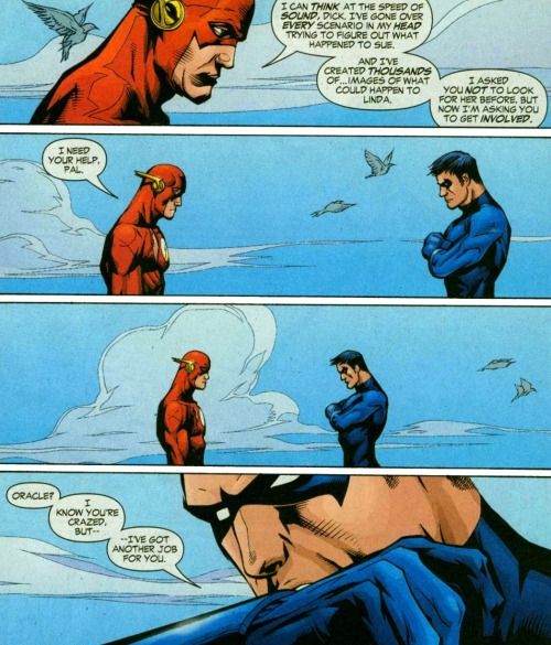 comicbookkissyface:  The Flash v2 #214