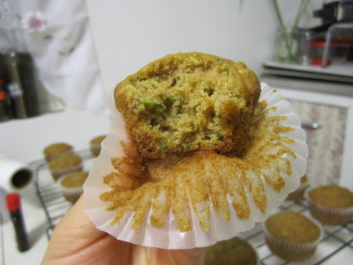 Zucchini Cupcake…so moist, so good!