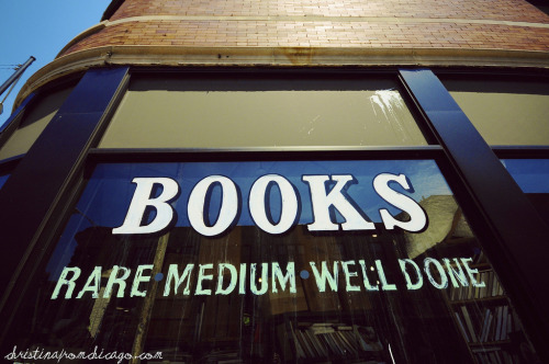 BOOKS: Rare, Medium, and Well Done