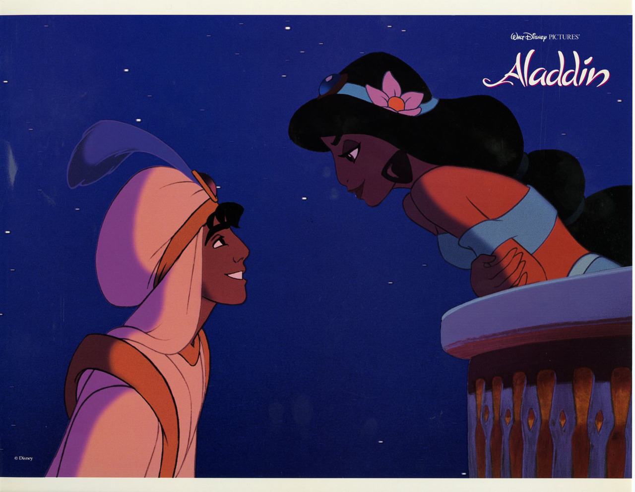 Aladdin, US lobby card. 1992