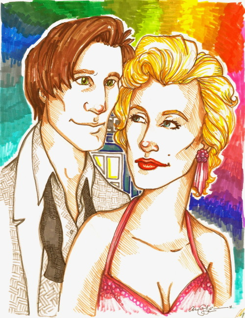 The Doctor and Marilyn    (a christmas carol.) lol.