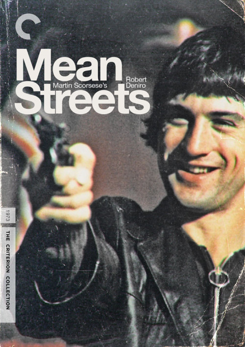 "Criterion Cover for Scorsese's ""Mean Streets"" MM = Midnight Marauder Follow me on Twitter 
