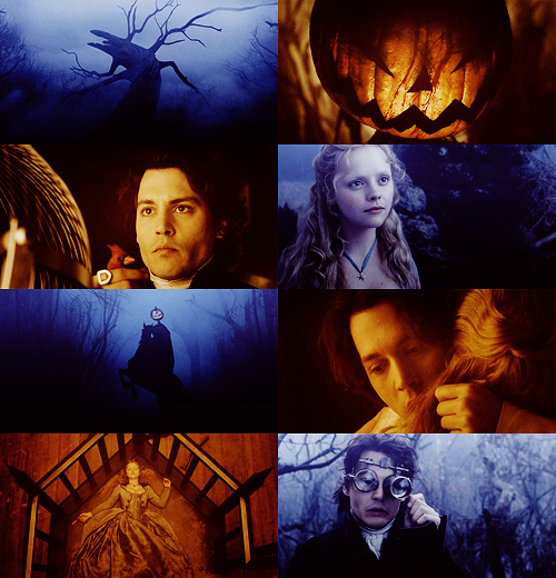 "300 FAVORITE MOVIES (in no particular order)  27. Sleepy Hollow (1999) ""Villainy wears many masks, none of which so dangerous as virtue…"""