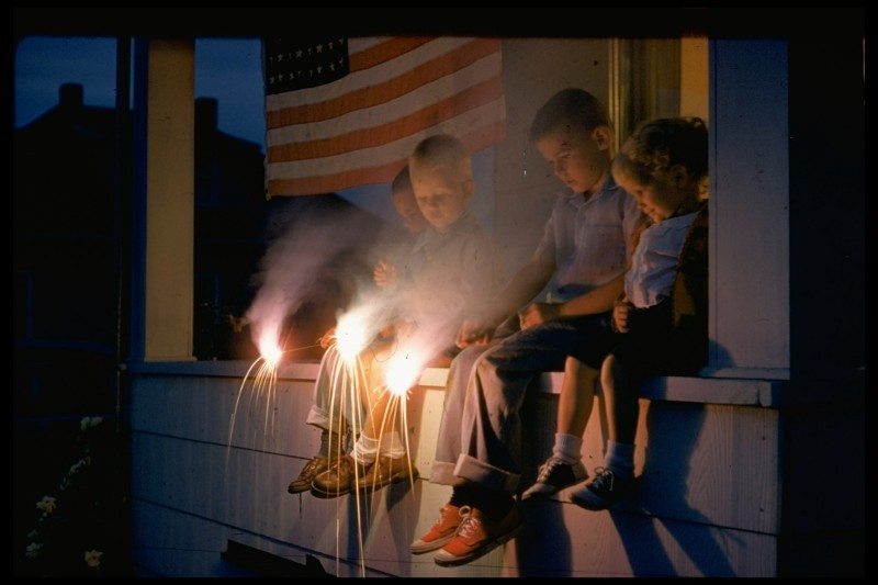 From LIFE, The Fourth of July, Back in the Day. (Photo by Nat Farbman//Time Life Pictures/Getty Images) July 4, 1954