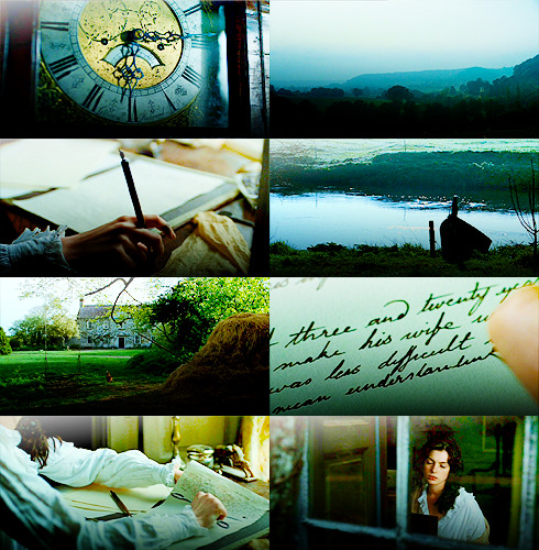 verlacs:  Becoming Jane opening scene