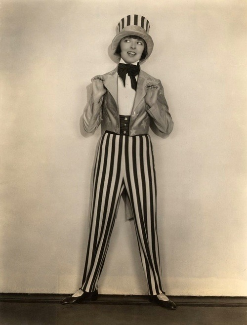 Colleen Moore as Uncle Sam - c. 1920s