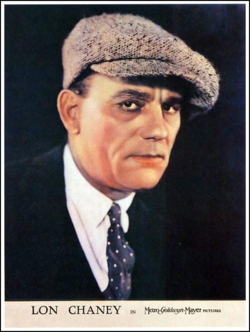 spookshownicole:  Lon Chaney, Sr. MGM Headshot.