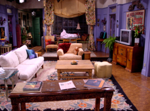 Friends: Monica/ Rachel/Joey/ Chandler's apartment