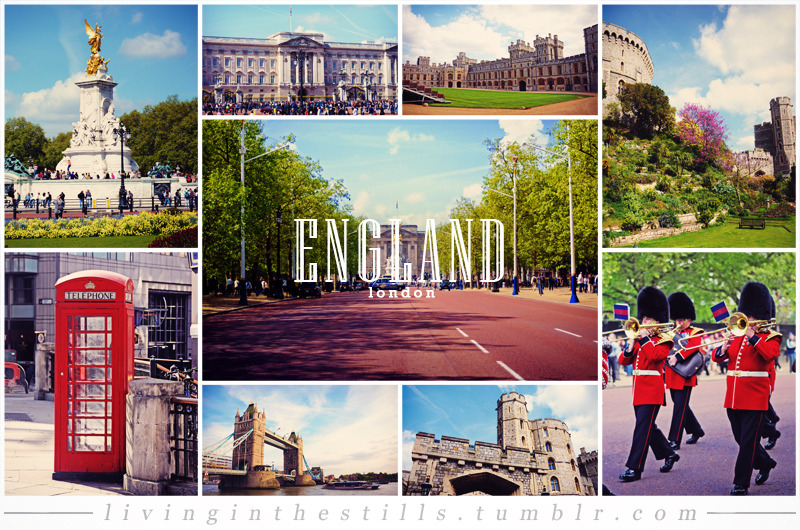 Travel Collage #8: EnglandCity included: LondonTravel Collage List