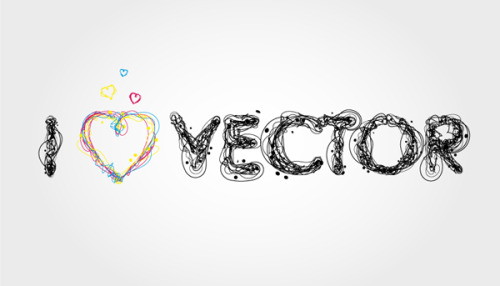 30 fascinating illustrator text-effects  found at print24.com