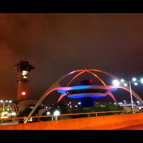 #LAX. Architecture of the future. Some photos just aren't meant to be cropped in a square.  (Taken with instagram)